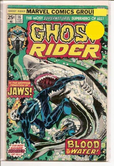 Ghost Rider # 16, 4.0 VG