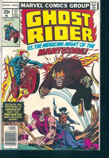 GHOST RIDER # 27, 6.0 FN