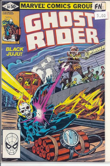 Ghost Rider # 60, 6.0 FN