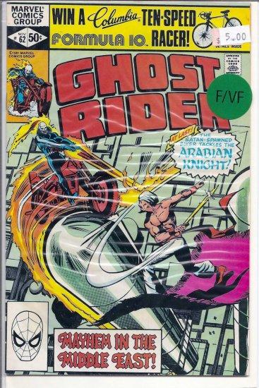 Ghost Rider # 62, 7.0 FN/VF