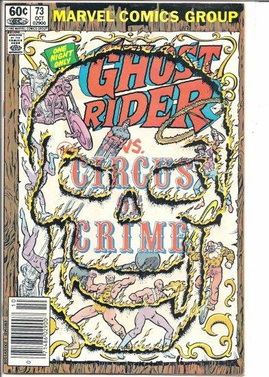 GHOST RIDER # 73, 4.5 VG +
