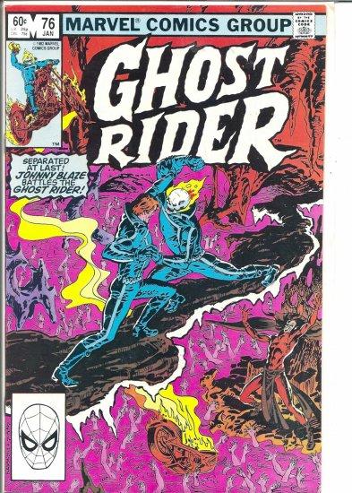 GHOST RIDER # 76, 8.0 VF