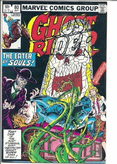 GHOST RIDER # 80, 7.5 VF -