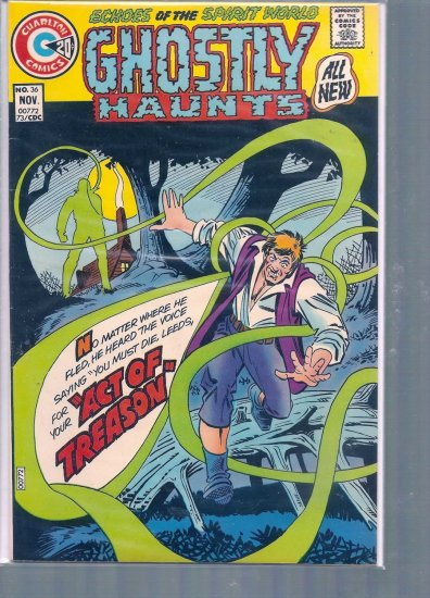 GHOSTLY HAUNTS # 36, 7.0 FN/VF