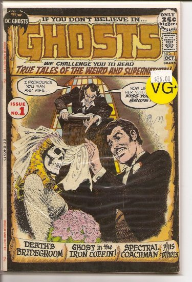 Ghosts # 1, 4.5 VG +