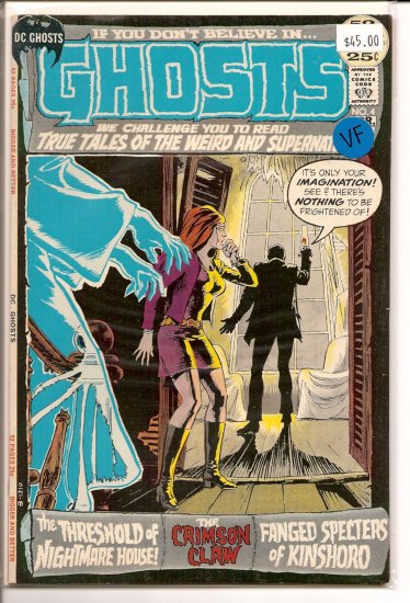 Ghosts # 4, 8.0 VF