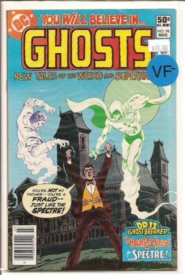 Ghosts # 98, 7.5 VF -