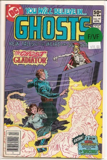 Ghosts # 99, 7.0 FN/VF