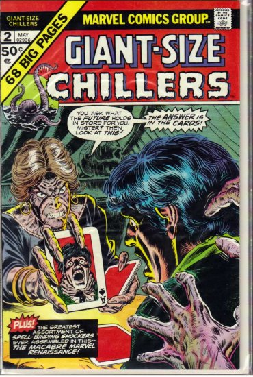 GIANT-SIZE CHILLERS # 2, 5.5 FN -