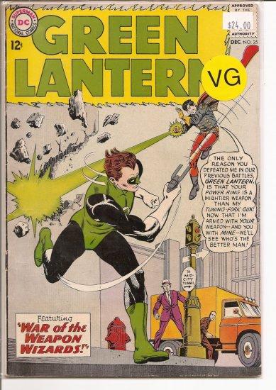 Green Lantern # 25, 4.0 VG