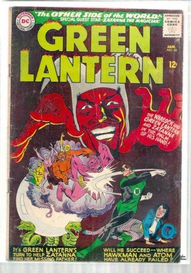 GREEN LANTERN # 42, 2.5 GD +