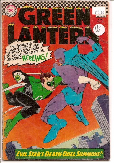 Green Lantern # 44, 4.0 VG