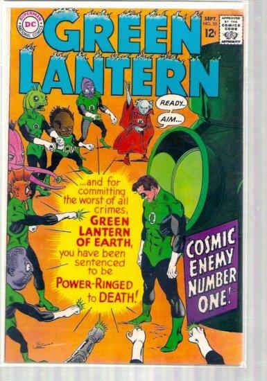 GREEN LANTERN # 55, 4.0 VG
