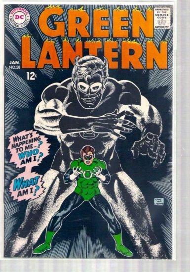 GREEN LANTERN # 58, 7.5 VF -