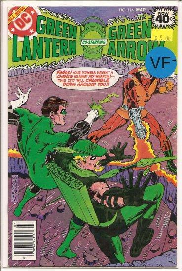 Green Lantern # 114, 7.5 VF -