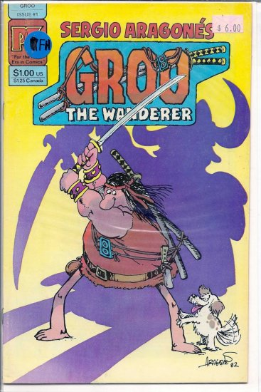 Groo The Wanderer # 1, 6.0 FN