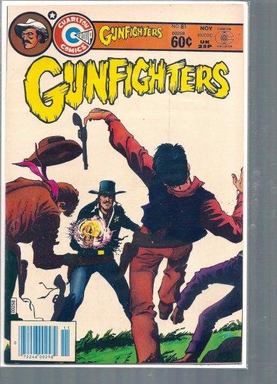 GUNFIGHTERS # 81, 7.5 VF -