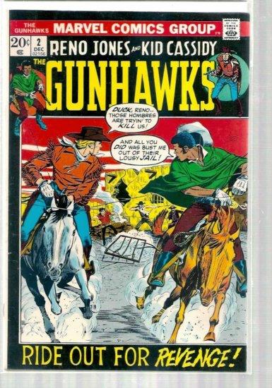 GUNHAWKS # 2, 4.5 VG +