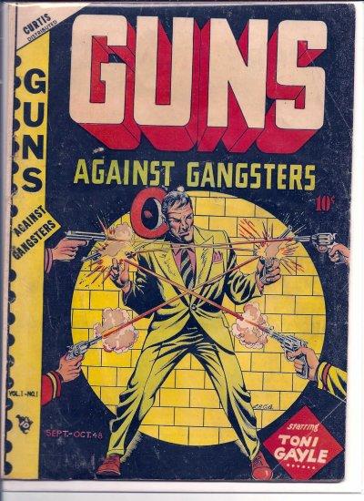 GUNS AGAINST GANGSTERS # 1, 4.0 VG
