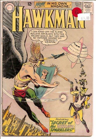 Hawkman # 2, 2.0 GD