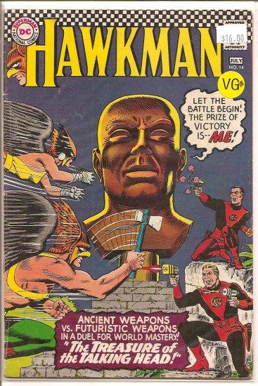 Hawkman # 14, 4.5 VG +