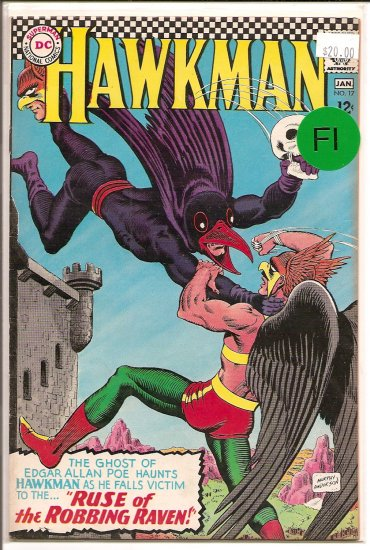 Hawkman # 17, 6.0 FN
