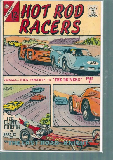 HOT ROD RACERS # 14, 4.0 VG