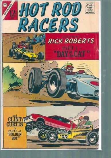 HOT ROD RACERS # 15, 4.5 VG +