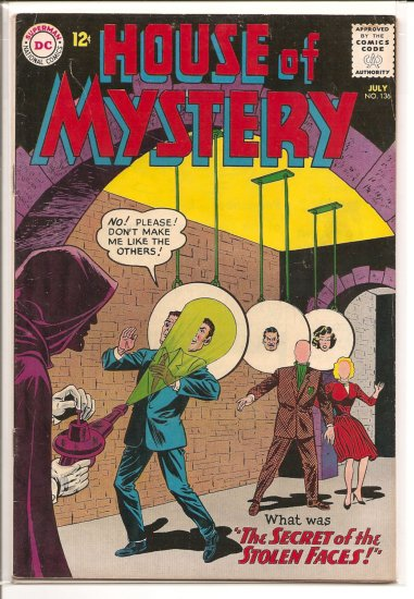 House of Mystery # 136, 4.5 VG +