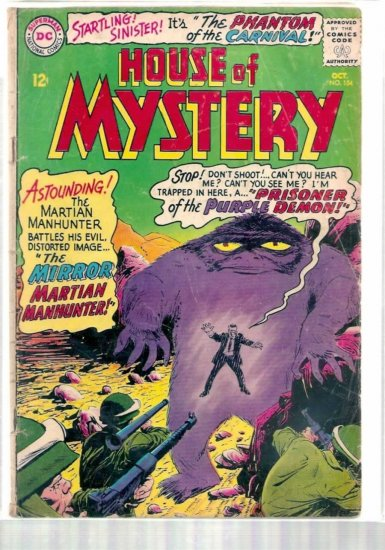 HOUSE OF MYSTERY # 154, 2.5 GD +