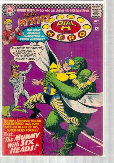 HOUSE OF MYSTERY # 161, 4.5 VG +