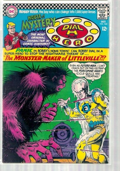 HOUSE OF MYSTERY # 162, 4.5 VG +