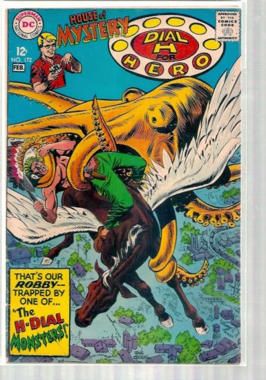 HOUSE OF MYSTERY # 172, 4.5 VG +