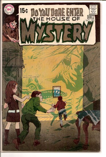 House Of Mystery # 183, 7.0 FN/VF