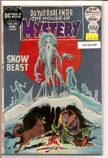 House Of Mystery # 199, 9.2 NM -