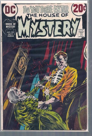 HOUSE OF MYSTERY # 207, 4.0 VG