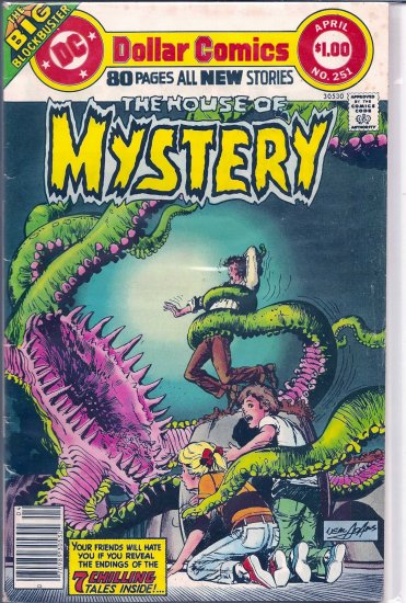 HOUSE OF MYSTERY # 251, 4.5 VG +