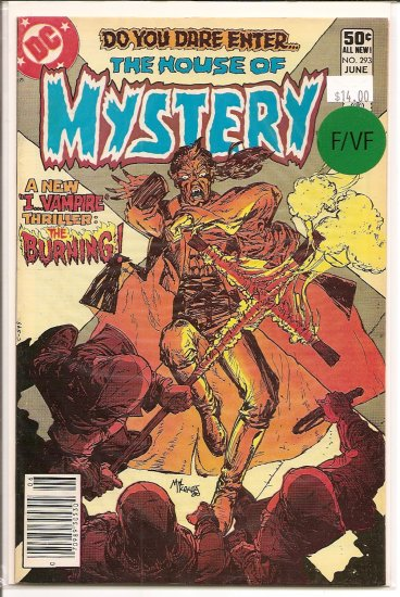 House Of Mystery # 293, 7.0 FN/VF