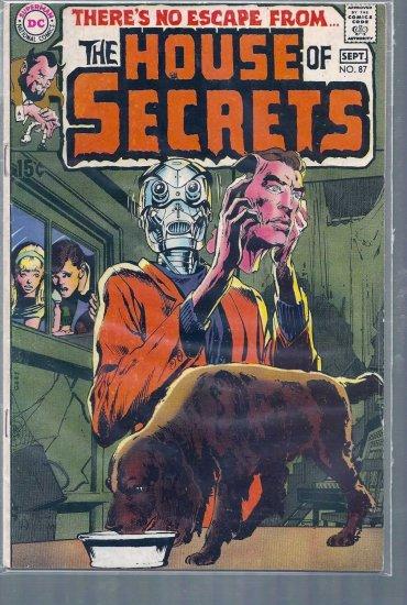 HOUSE OF SECRETS # 87, 4.5 VG +