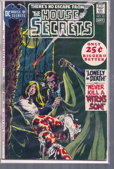HOUSE OF SECRETS # 93, 4.5 VG +