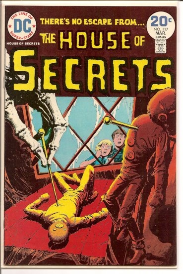 House of Secrets # 117, 8.5 VF +