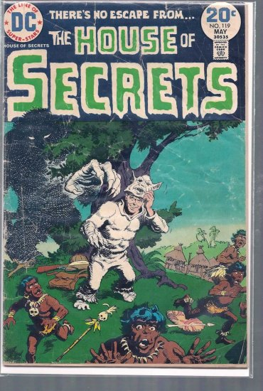 HOUSE OF SECRETS # 119, 1.8 GD -