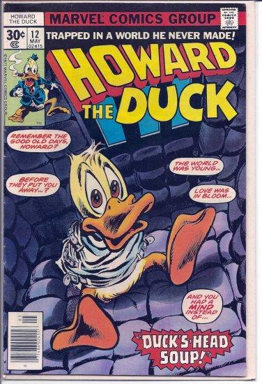 HOWARD THE DUCK # 12, 5.5 FN -