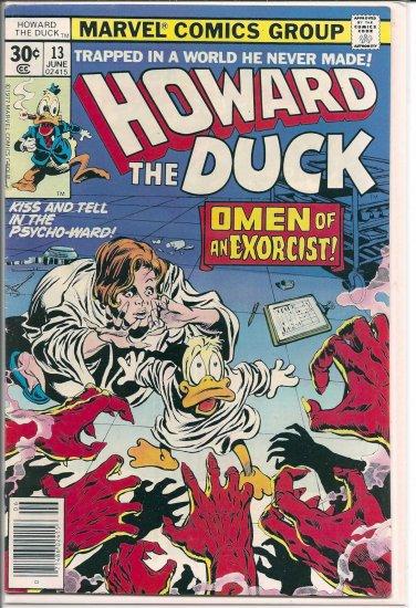 HOWARD THE DUCK # 13, 5.5 FN -