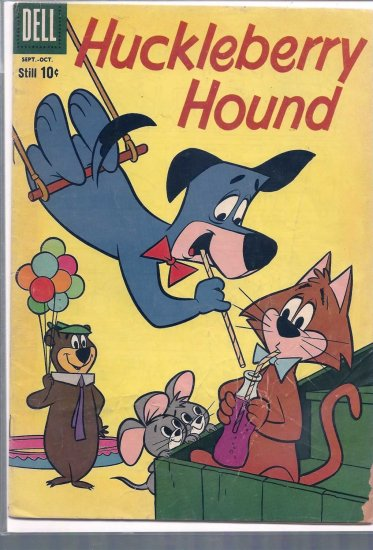 HUCKLEBERRY HOUND # 7, 2.5 GD +