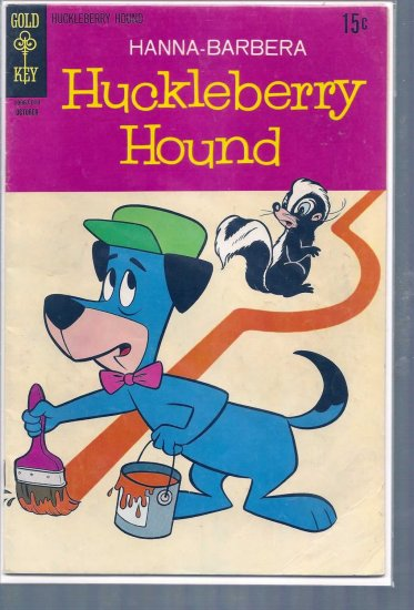 HUCKLEBERRY HOUND # 45, 4.0 VG