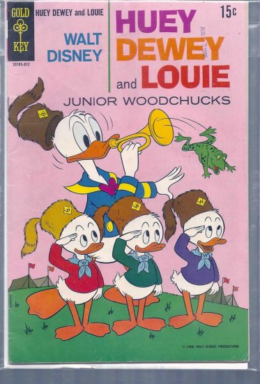 HUEY, DEWEY, AND LOUIE JUNIOR WOODCHUCKS # 3, 4.0 VG