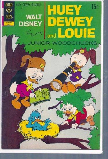 HUEY, DEWEY, AND LOUIE JUNIOR WOODCHUCKS # 15, 7.5 VF -