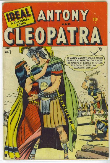 Ideal A Classical Comic # 1, 3.0 GD/VG