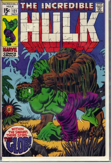 INCREDIBLE HULK # 121, 4.5 VG +